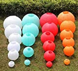 BeesClover 10pcs/lot Paper Ball Festival Lanterns Party Supplies Craft Gift Paper Lanterns for Wedding Favors Decoration Beige