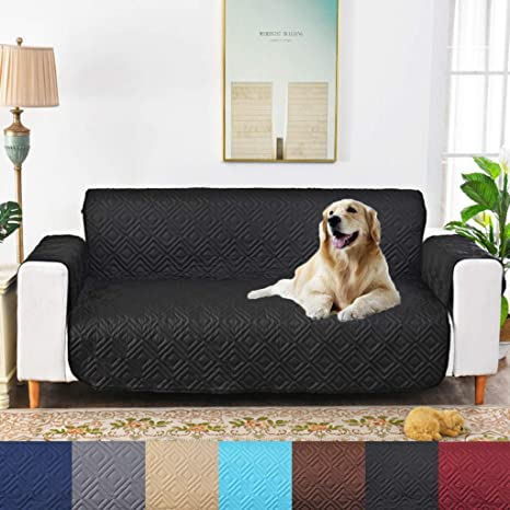 Excellent Amazon Com Pets Waterproof Couch Covers 1 Piece Quilted Short Links Chair Design For Home Short Linksinfo