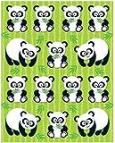 Carson Dellosa Pandas Shape Stickers (168021)