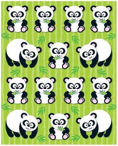 - Carson Dellosa Pandas Shape Stickers (168021)