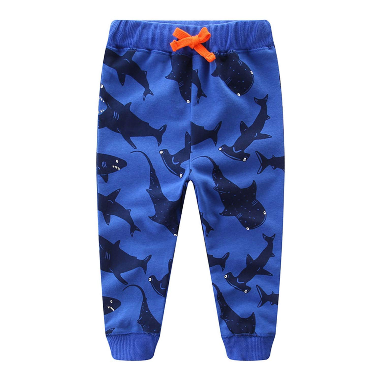 Susie Zechariah Boys Cotton Trousers Cartoon Autumn Winter Baby Clothes Leggings for Boy