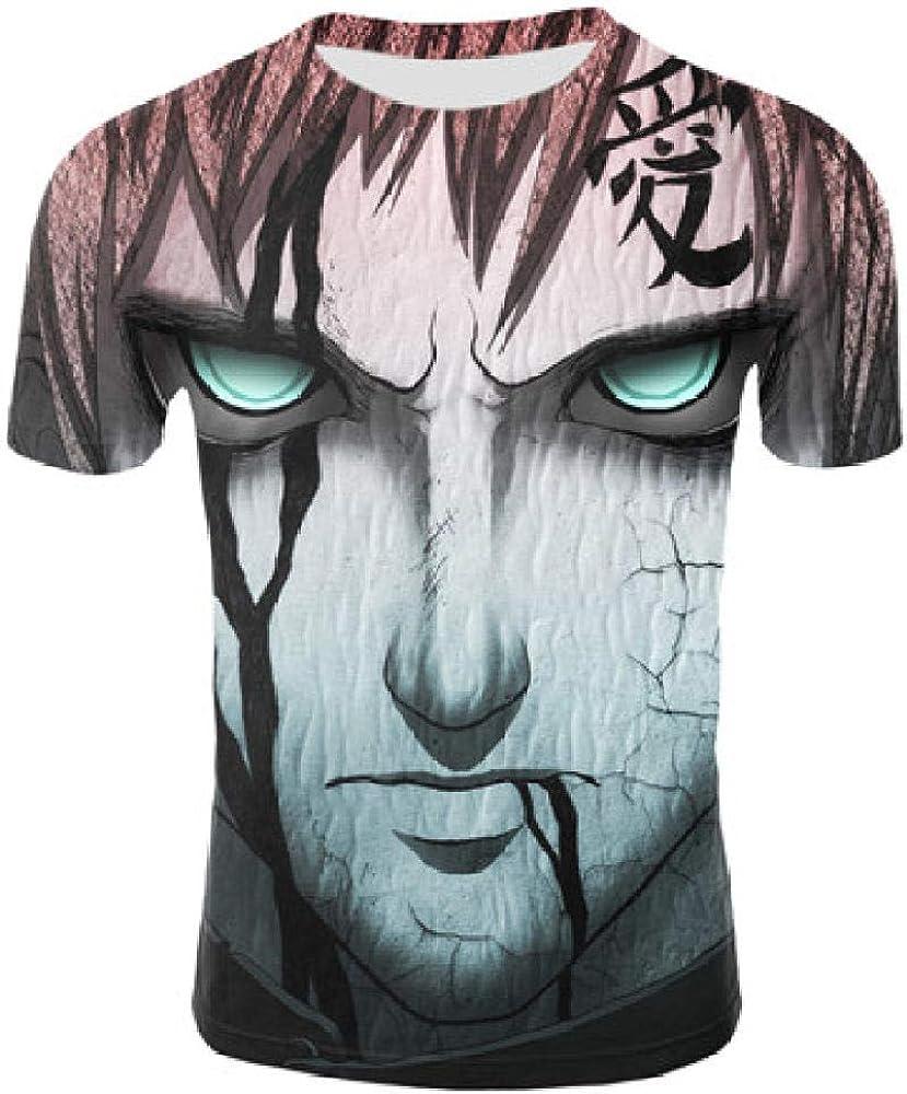 TSHIMEN Camisetas Hombre One Piece Naruto Hombres Luna Camiseta Punk Rock Ropa Hip Hop Azul tee Camisetas 2019 Nueva Ropa para Hombre Fresca Pink s: Amazon.es: Ropa y accesorios