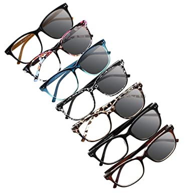 7f5b53f04f3 Transition Photochromic Unisex Large Oversized Frame Stars Pattern Nerd  Geek UV400 Sunglasses Reading Glasses +1.0