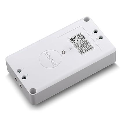 Maclean mce145 Detector de movimiento de microondas Tecnología Radar Sensor de movimiento 360 ° con crepuscular