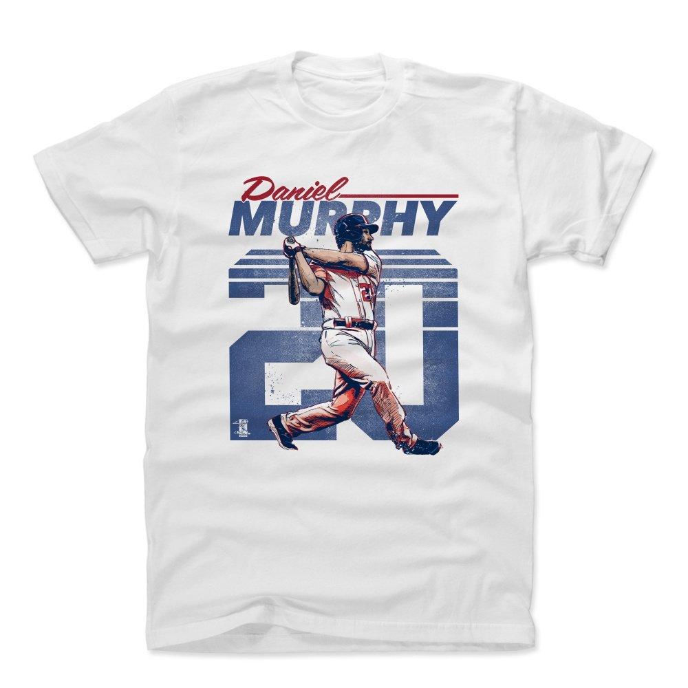 ダニエルマーフィーレトロBワシントンDCメンズコットンTシャツ B01NCHXMEWホワイト XXX-Large