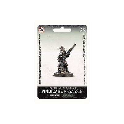 Games Workshop Warhammer 40k Vindicare Assassin 2015 New Model: Toys & Games
