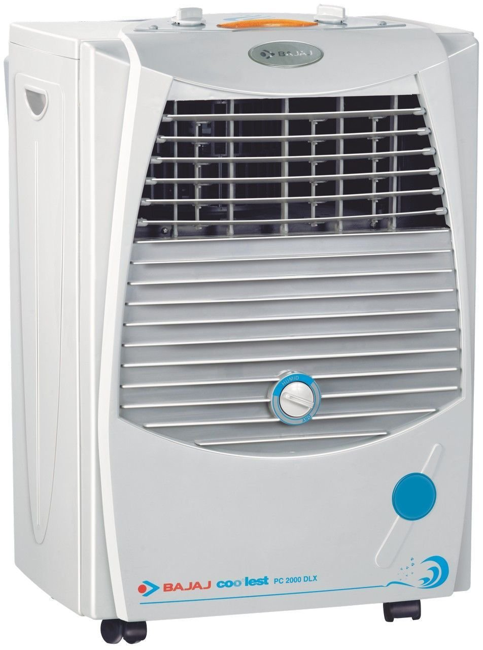 Bajaj PC2000 DLX 15 Ltrs Room Air Cooler (White) - for