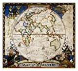 Map of Discovery, Eastern Hemisphere [Tubed] (National Geographic Reference Map)