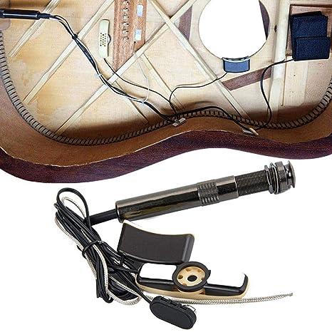 PiRA8, accesorios para pastilla, guitarra y bajo, agujero de ...