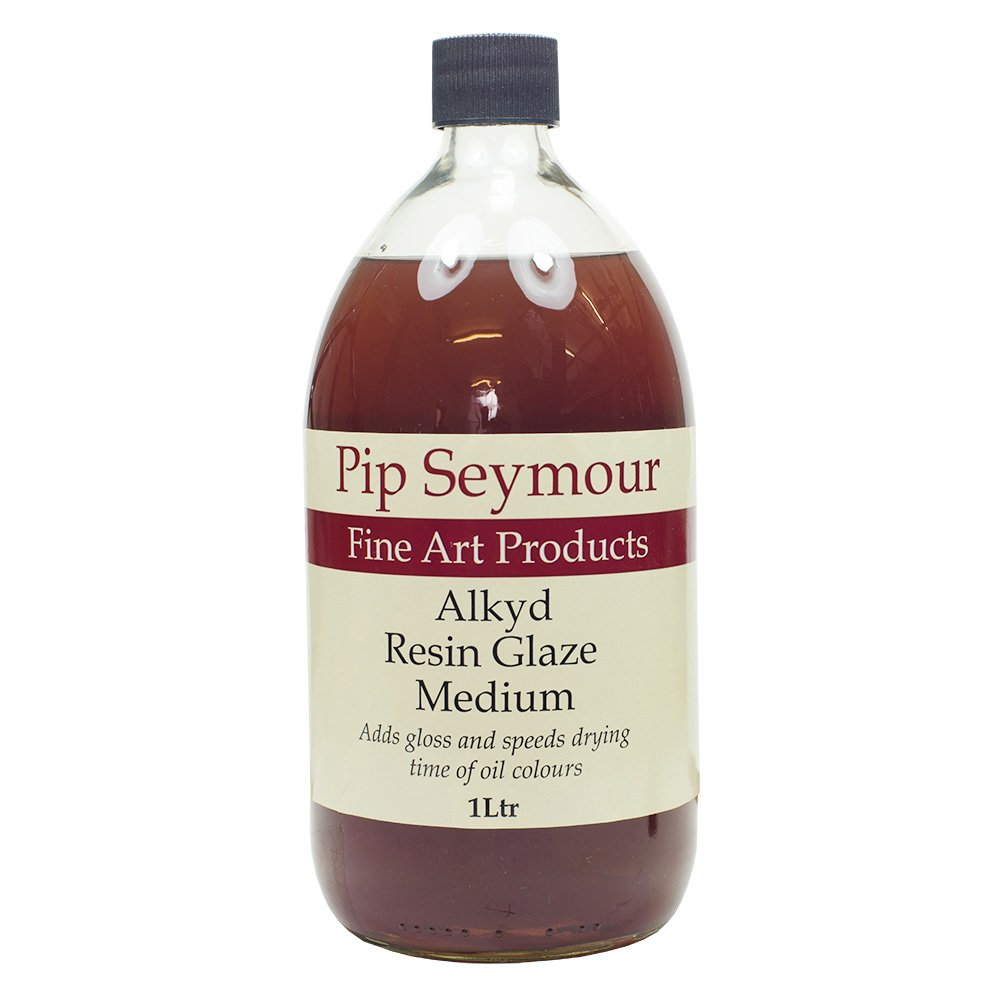 Wallace Seymour : Alkyd Resin Glaze Medium : 1000ml : By Road Parcel Only