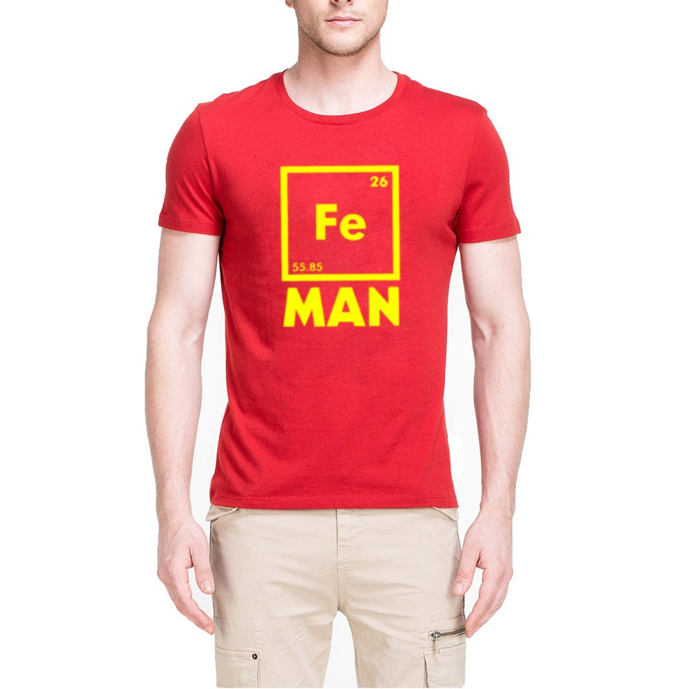 Loo Show S Iron Science Chemistry Shirt Fe Periodic Funny T Shirts Tee