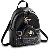 7e33c01524 Cute Small Backpack Mini Purse Casual Daypacks Leather for Teen Girls and  Women