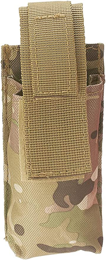 AsaTechmed Tourniquet Pouch Holder EMT EMS Tactical MOLLE Pouch with Belt Loop Strap and Trauma Shear Slot