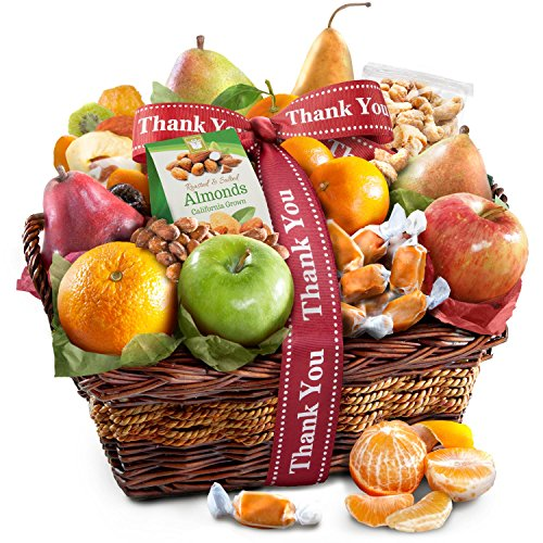 Thank You Orchard Delight Fruit and Gourmet Gift Basket ()