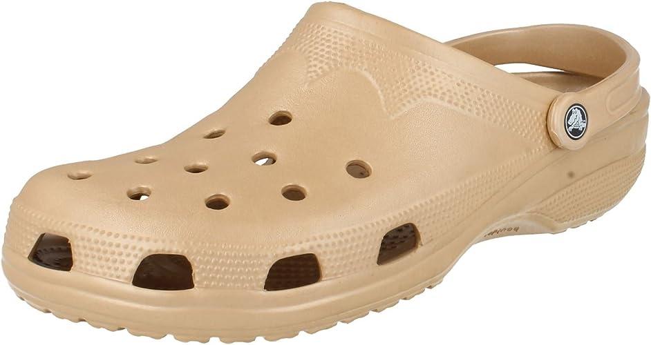 Mens Crocs Clogs Gold Size 13-14 UK
