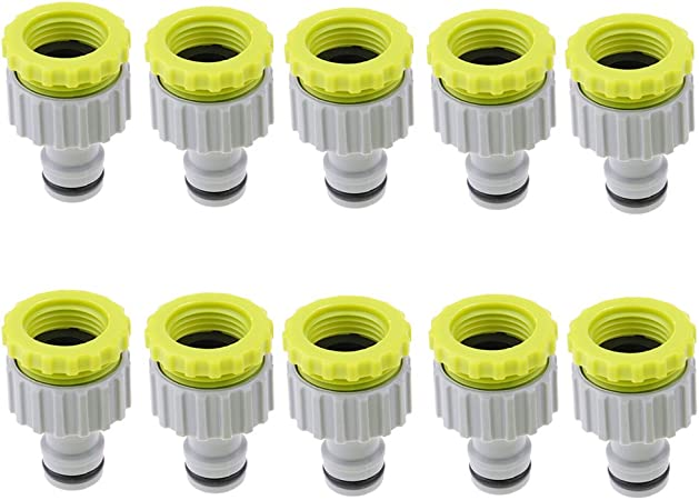 "1//2/"" Compatible Water Hose Tube Garden Tool Lawn  Tap Adaptor Connector"