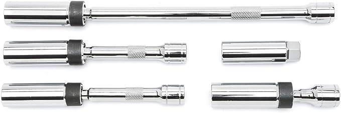 Sealey AK65561 4pc 3//8 Sq Drive Spark Plug Socket Set Magnetic