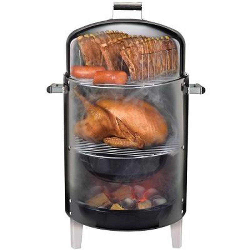 amazon com brinkmann 810 5302 s smoke u0027n grill charcoal smoker