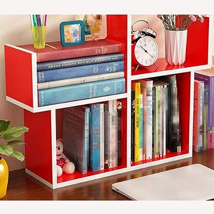 OSHA Desktop Small Bookshelf Simple Table Mini Modern Style Student Bookcase