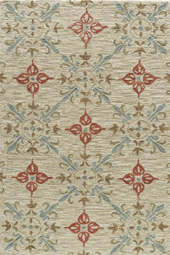 Momeni Rugs SUMITSUM-1SND3656 Summit Collection, Hand Knotted Transitional Area Rug, 3'6