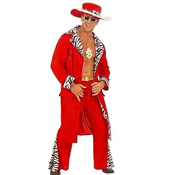 zuhälter Disfraz Pimp Gangster Disfraz Rapper Señor Disfraz proll ...
