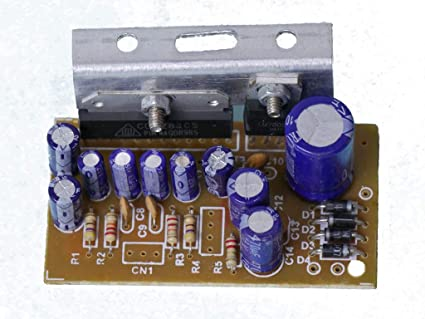 Nktronics 6283 15W and 15W 12V DC Amplifier Board (Brown)
