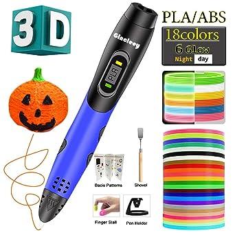 Amazon.com: Gincleey - Bolígrafo 3D de impresión para niños ...