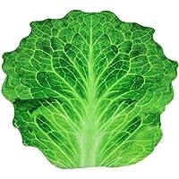 Premium Round Flannel Blanket, Volwco Lightweight Siesta Omelette Blanket Kids Wearable Warm Vegetable Fleece Throws…
