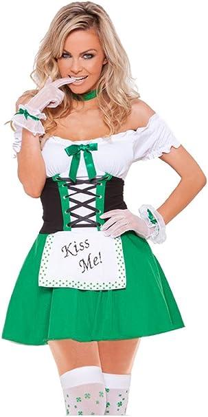 Shangrui Mujeres Cosplay Disfraces Serie Irlandesa Criada Disfraz ...