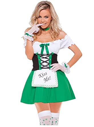 Shangrui Womens Cosplay Costumes Series Irish Maid Costume  Amazon.co.uk   Clothing 2392feca3