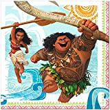 Moana Disney Hawaii Beach Napkins Lunch Party Decoration 48 Pieces Pack