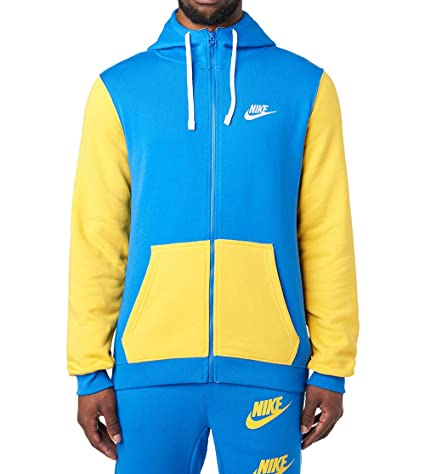 c15fdbc90fc7 Amazon.com  Nike Men s Sportswear Archive Full-Zip Hoodie  Sports ...