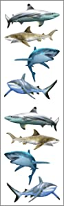 Mrs Grossman Stickers-Shark World