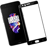 Pellicola Protettiva OnePlus 5, Veotech Vetro Temperato OnePlus 5 [ 3D Copertura Completa ] Durezza 9H Anti-Graffio Alta Definizione Screen Protector per OnePlus 5 – 1 pezzi