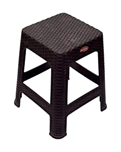 PRIMA - Rattan Stool (Brown Color) - Set of 2.