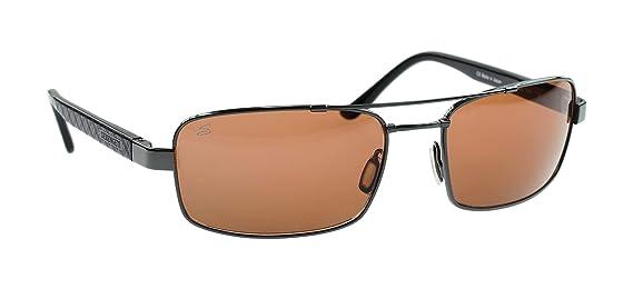 Serengeti Gafas de Sol de Titanio Ligero Tosca, Plateado Oscuro, Lente Fotocromática Polarizada Para Conductores, Tamaño Medio: Amazon.es: Deportes y aire ...