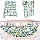 Tuliptown Coloured Knitting Climbing Net Macaw Large Hemp Rope For Parrot Bird Cage Toy Hanging Rope