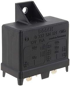 Bosch Automotive 0332514121 13 Pins, 12 V, 15 A, Relay, Jetronic