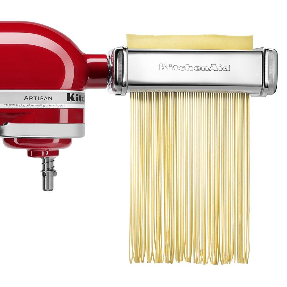 Amazon.com: KitchenAid KPCA Pasta Cutter Companion Set Attachment ...