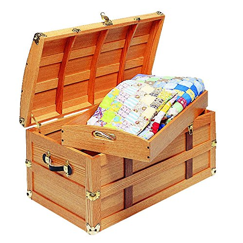 Plated Trunk - Steamer Trunk Brass Plated Hardware Kit