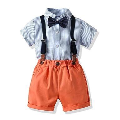 Conjunto de Ropa para Caballero de Verano para bebés y niños ...