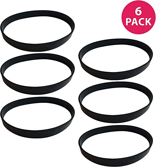 Think Crucial 8 Replacements for Dirt Devil Style 12 Drive Belt Compatible With Part # 3910355001