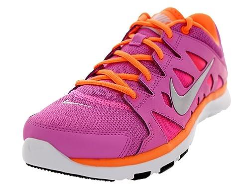new arrival f184d dedb4 Amazon.com   Nike Women s Flex Supreme Tr 2 Rd Vlt Mtlc Prtnm Pnk Glw Atmc  Training Shoe 6 Women US   Fitness   Cross-Training