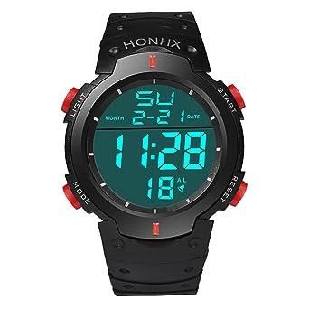 Reloj digital para hombre, relojes deportivos DYTA de 5 ATM, resistente al agua, con LED, ...