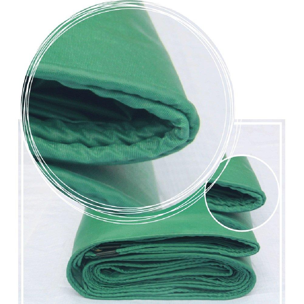 GLJ PVC-Plane des Freund Ponchoplanepapierölkrepp PVC-Segeltuchregenplanes Wasserdichtes Sonnenschutz Dauerhaft : Plane (Farbe : Dauerhaft Grün, größe : 5x6m) 2aa289