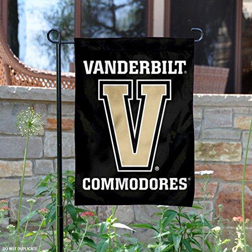 Vanderbilt Commodores Big V Garden Flag and Yard Banner
