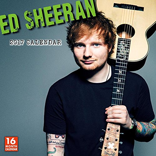 Ed Sheeran 2017 Wall Calendar