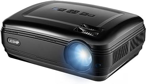 Proyector de vídeo GreensKon Full HD1080P, retroproyector de ...