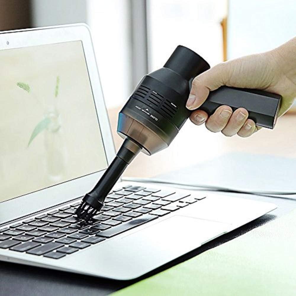 Honk Limpiador de teclado, recargable Mini USB teclado inalámbrico Aspiradora, mejor limpiador para limpiar polvo, cabello, migas, rasquetas para portátil, piano, computadora, coche: Amazon.es: Oficina y papelería