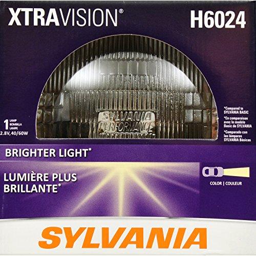 SYLVANIA H6024 XtraVision Halogen Sealed Beam Headlight (7